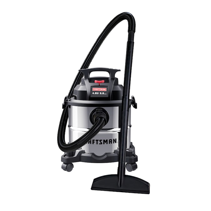 Craftsman 4 Gallon Portable Wet Dry Shop Vacuum In The Shop Vacuums Department At Lowes Com