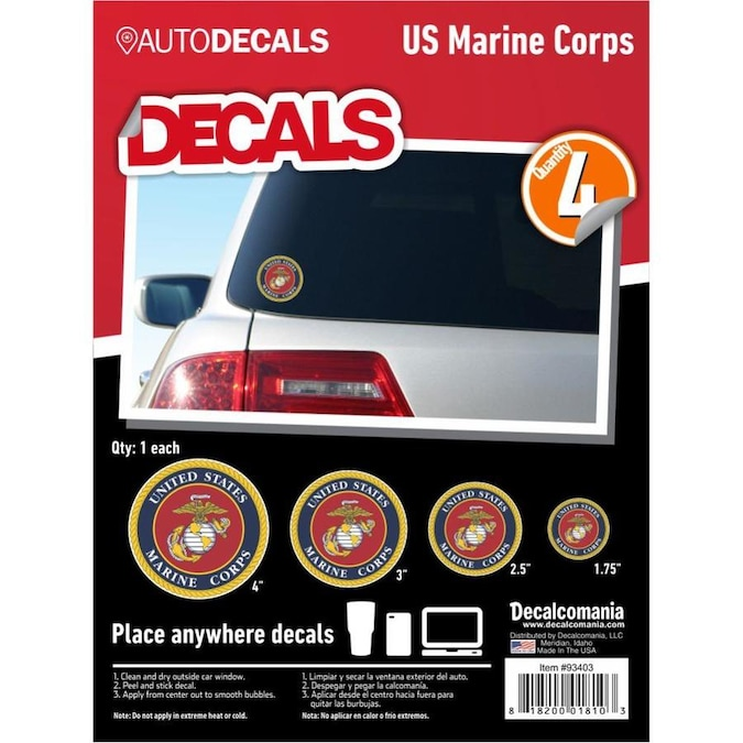 Decalcomania Patriotic Decals Frameless 8 In H X 6 In W Patriotic Plastic Print In The Wall Art Department At Lowes Com