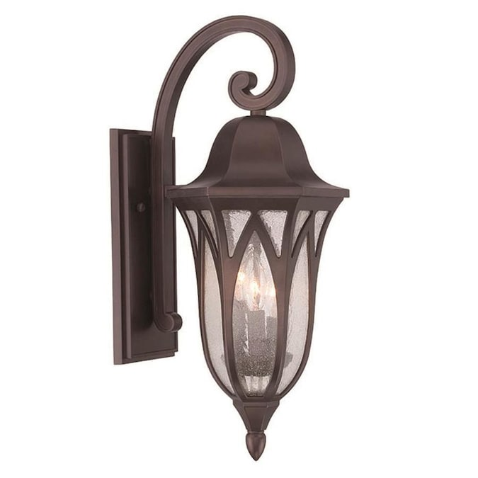 Acclaim Lighting Milano 22 In H Architectural Bronze Candelabra Base E 12 Outdoor Wall Light In The Outdoor Wall Lights Department At Lowes Com