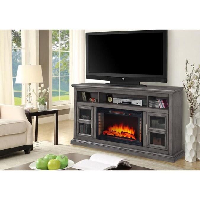 Muskoka 58 In W Dark Weathered Gray Fan, Muskoka Sloan Fireplace Reviews