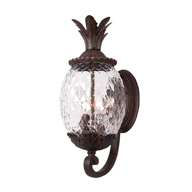 Acclaim Lighting Lanai 21 In H Black Coral Candelabra Base E 12 Outdoor Wall Light In The Outdoor Wall Lights Department At Lowes Com