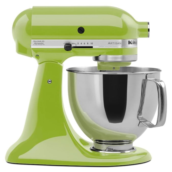 Kitchenaid 5 Quart 10 Speed Green Apple Residential Stand Mixer In The Stand Mixers Department At Lowes Com