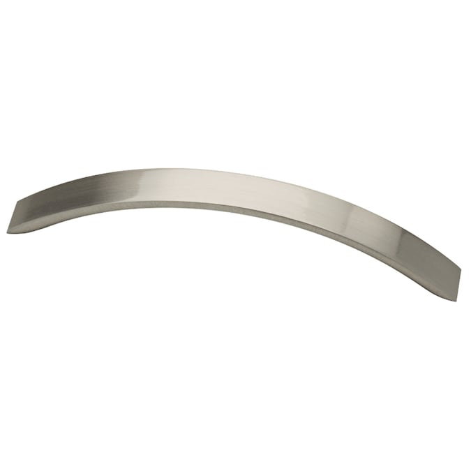 Brainerd Subtle Arch 5 1 16 In Center To Center Satin Nickel Arch Handle Drawer Pulls In The Drawer Pulls Department At Lowes Com