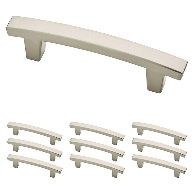 Franklin Brass Pierce 10 Pack 3 In Center To Center Satin Nickel Arch Bar Drawer Pulls In The Drawer Pulls Department At Lowes Com