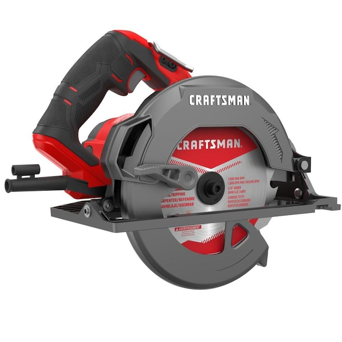 Craftsman 15 Amp 7 1 4 In Corded Circular Saw With Magnesium Shoe In The Circular Saws Department At Lowes Com