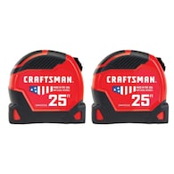Deals on Craftsman Proreach 2-Pack 25-ft Auto Lock Tape Measure