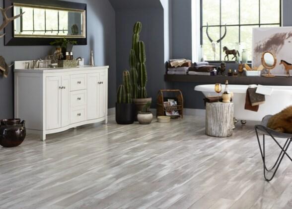Vinyl Flooring, Is Vinyl Plank Flooring Good In Bathrooms