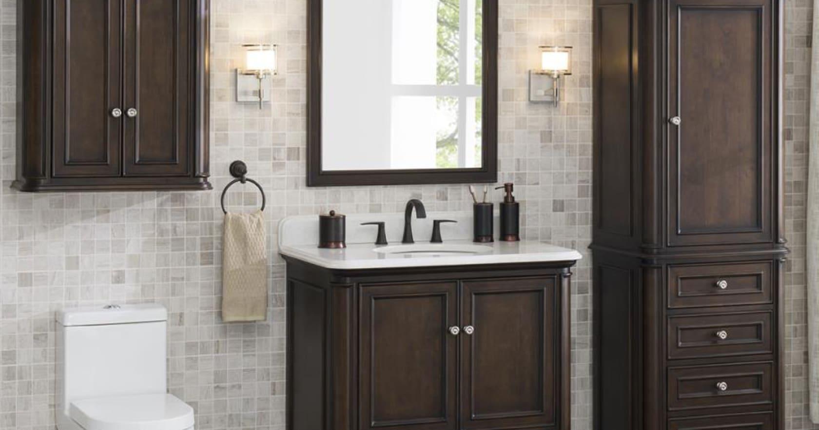Bathroom Storage, Bathroom Shelving Cabinet