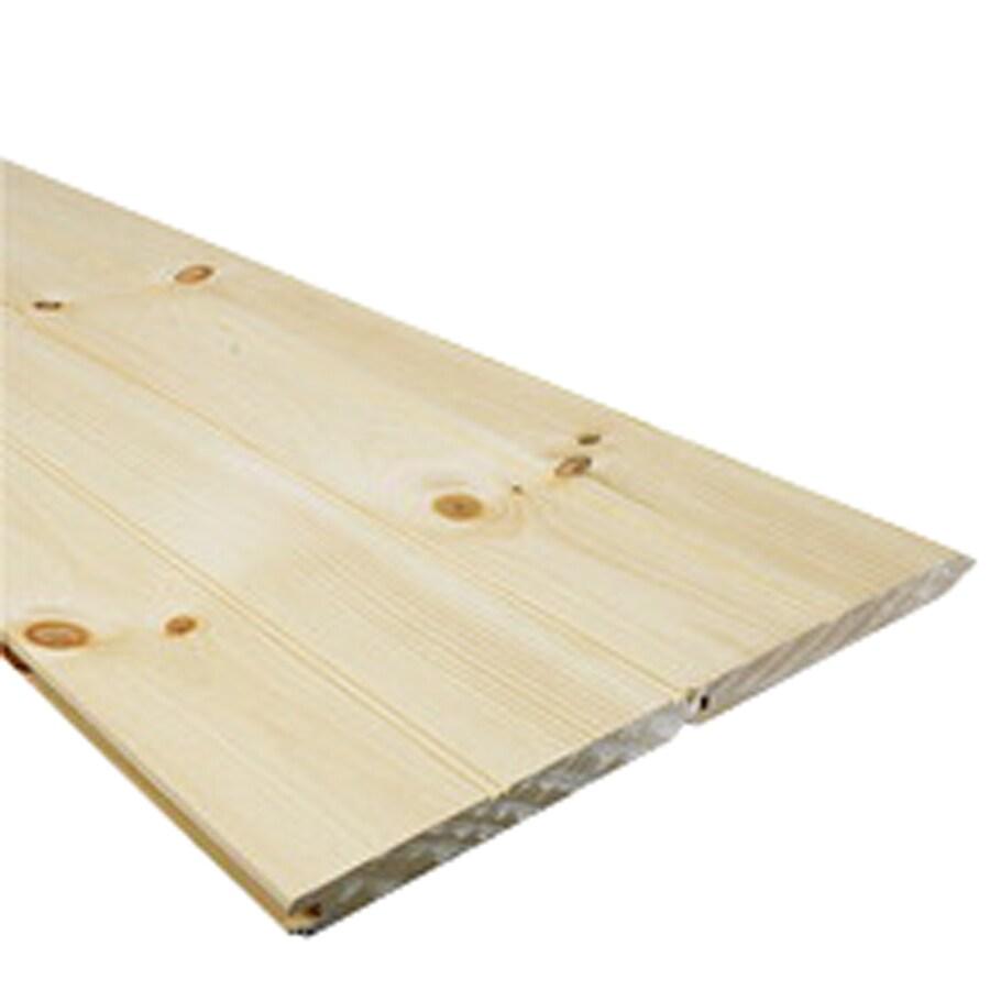 Shop 1 x 8 x 12 Eastern White Pine ECBWP4 Tongue Groove Board