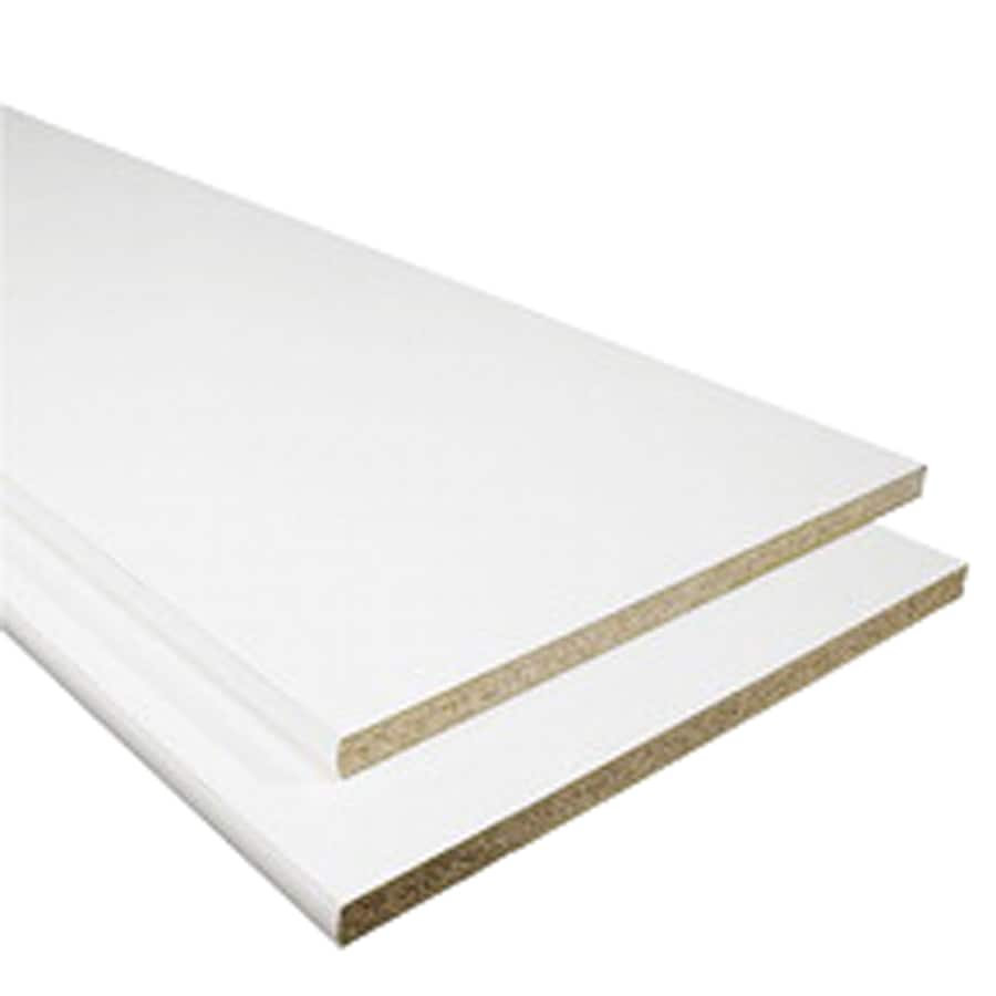 82 White Melamine Shelf Board Thermally Fused