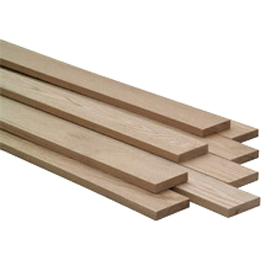 Kiln-Dried Red Oak Board (Common: 0.25-in x 4-in x 48-in; Actual: 0.25-in x 3.5-in x 48-in)