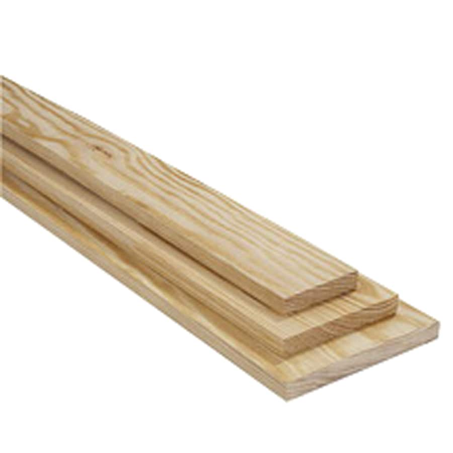 Shop 1 X 4 X 12 C Amp Btr Southern Yellow Pine Board At Lowes Com