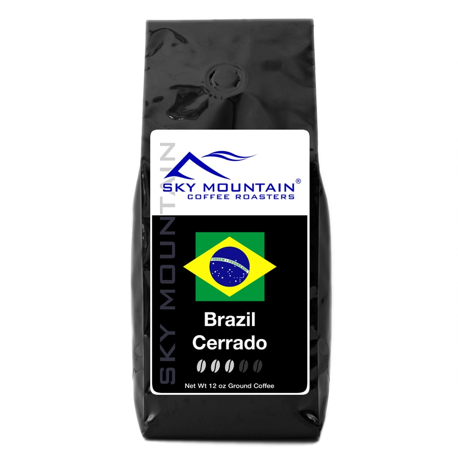 Sky Mountain Coffee Brazil Cerrado 12-oz Ground Coffee