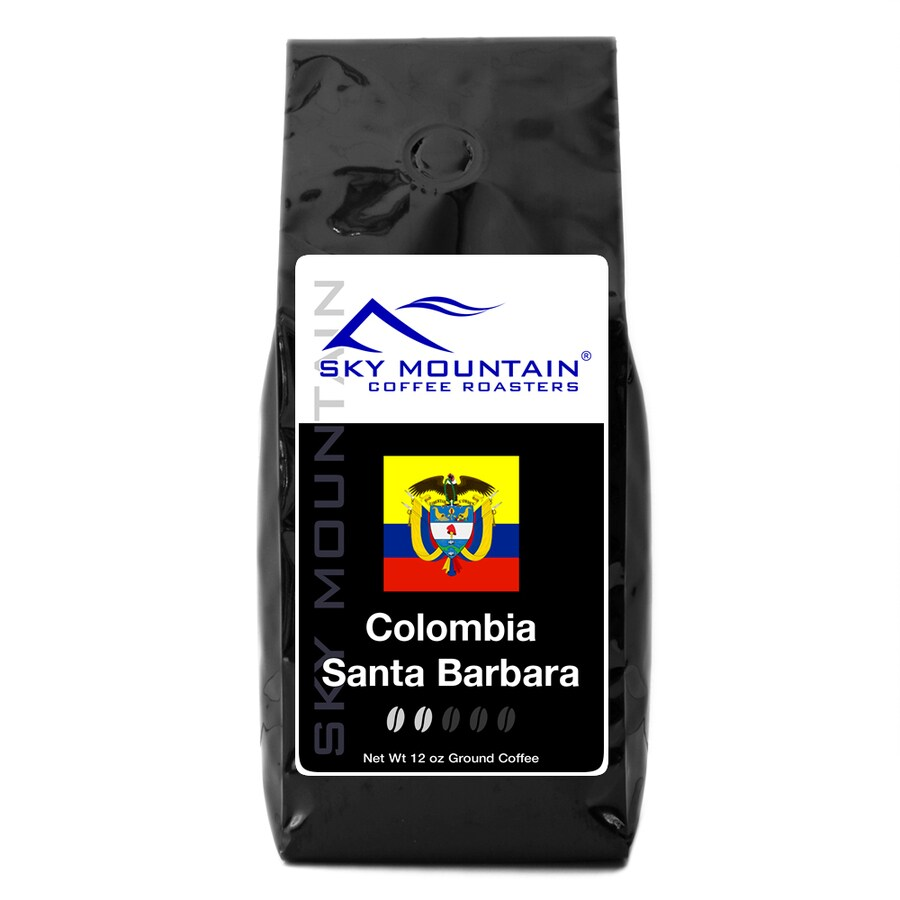 Sky Mountain Coffee Colombia Excelso 12-oz Ground Coffee