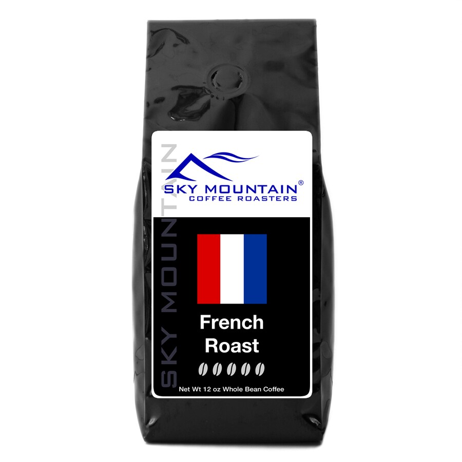 Sky Mountain Coffee French Roast 12-oz Whole Bean Coffee