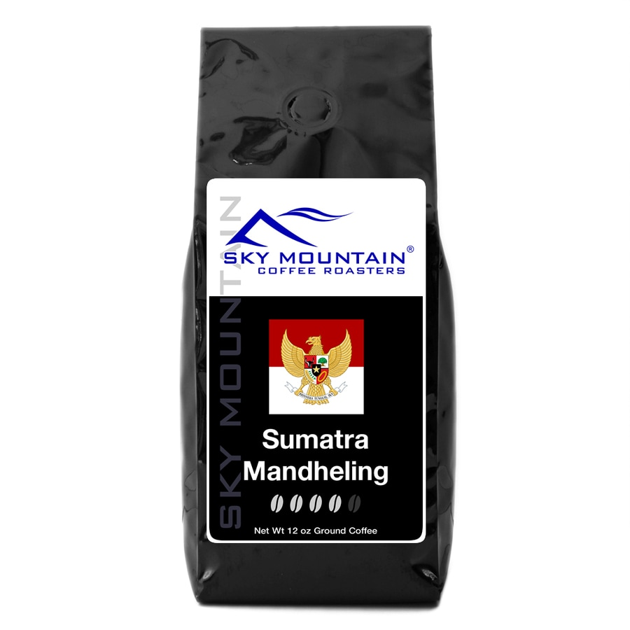 Sky Mountain Coffee Sumatra Mandheling 12-oz Ground Coffee