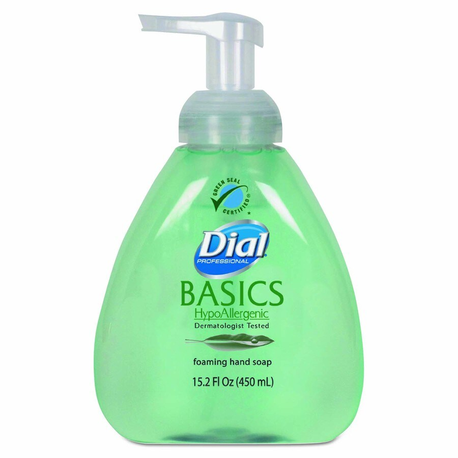 Dial 4-Pack 15.2-oz Foaming Honeysuckle Hand Soap
