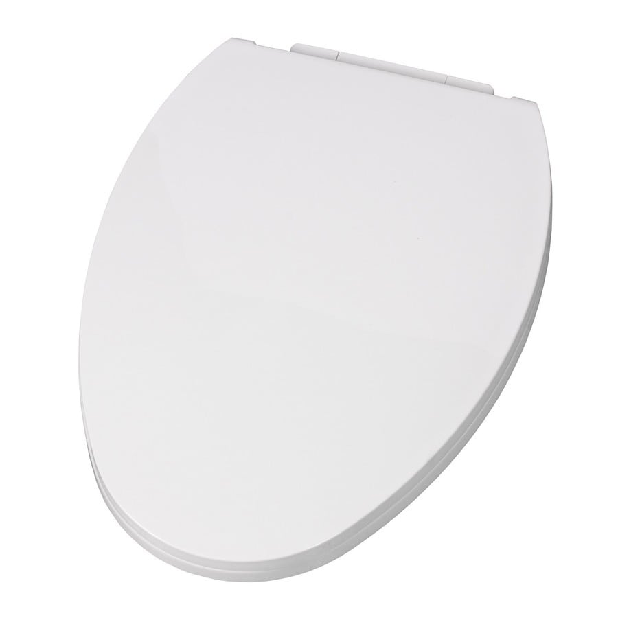 American Standard EverClean White Plastic Elongated Slow Close Toilet Seat