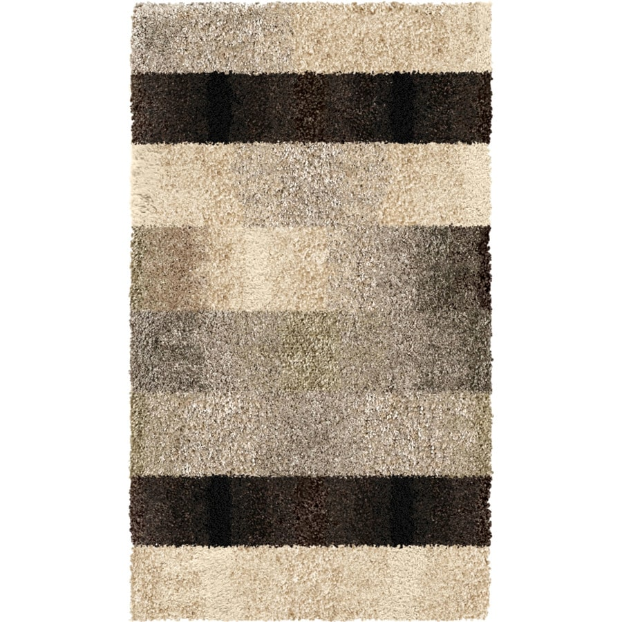 Orian Rugs Fading Panel Taupe Indoor Nature Throw Rug