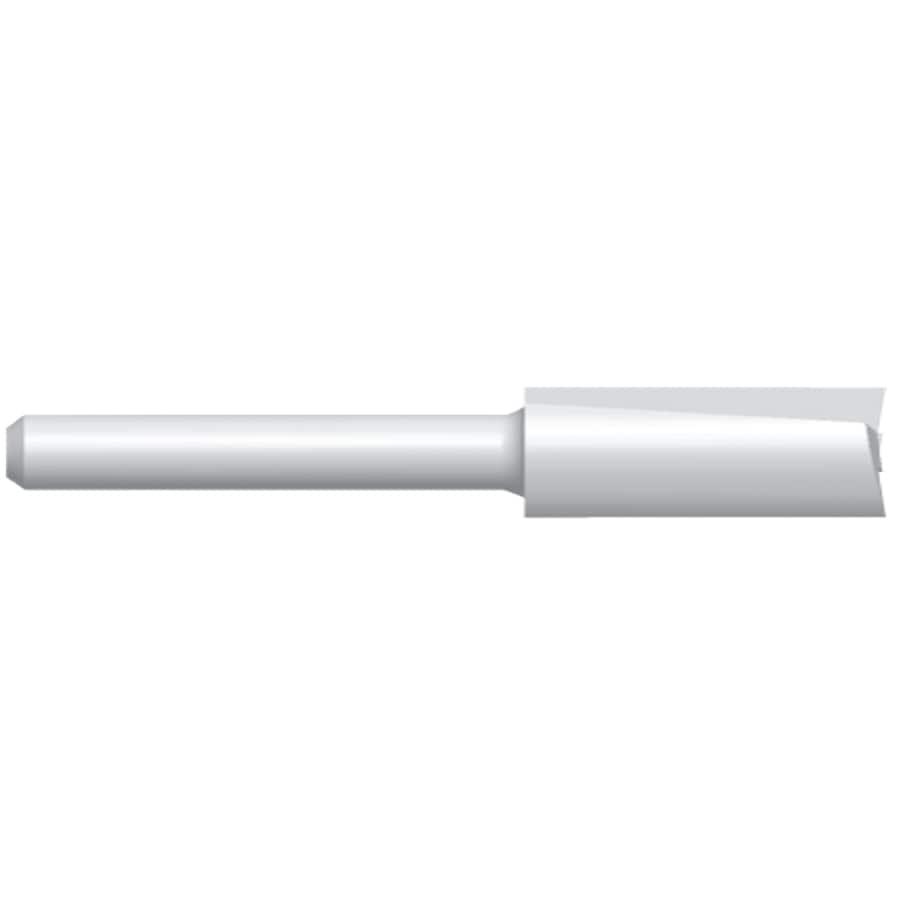 Bosch 1/4-in High-Speed Steel Straight Bit
