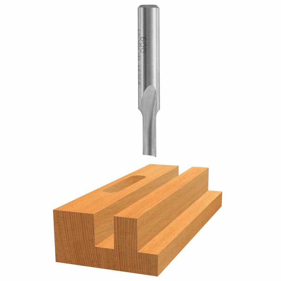Bosch 3/16-in High-Speed Steel Straight Bit