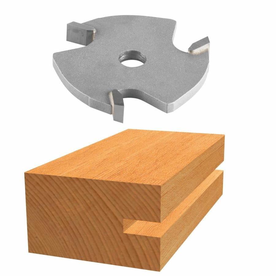 Bosch Carbide Tipped 3-Wing Slotting Cutter Bit