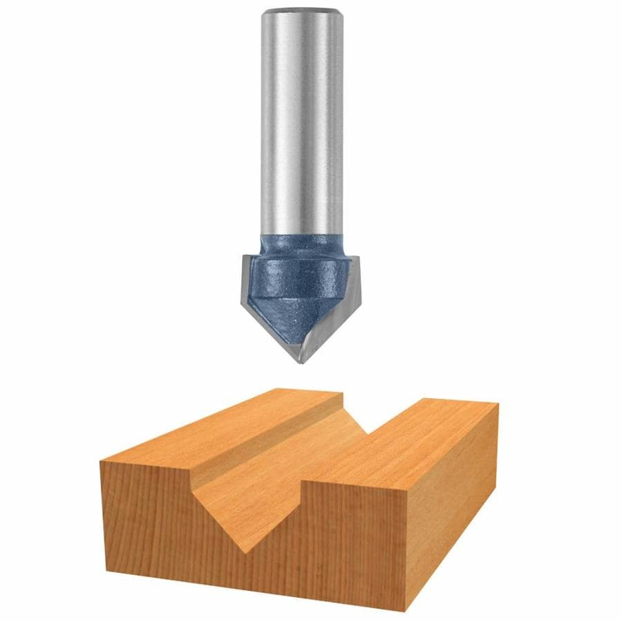 Bosch 3/4-in Carbide-Tipped V-Groove and Scoring Bit