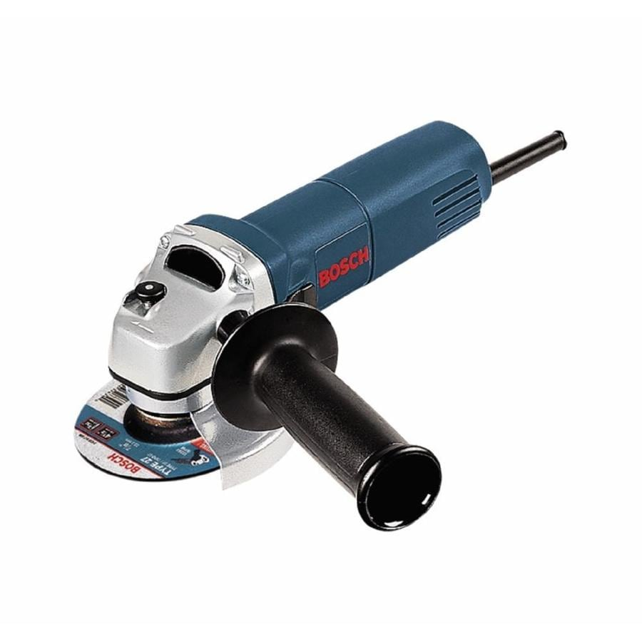 Bosch 4-1/2-in 6-Amp Trigger Switch Corded Angle Grinder