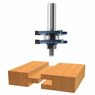 1 7 8 In Carbide Tipped Tongue And Groove Router Bit