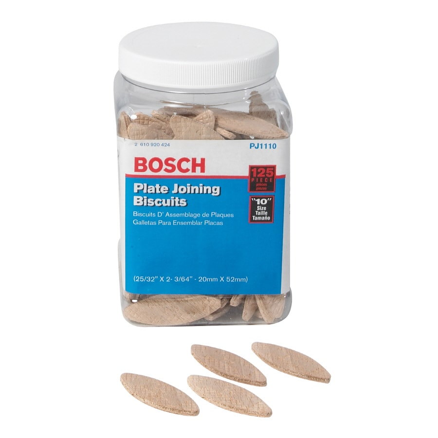 Bosch 125-Piece Biscuit Joiners