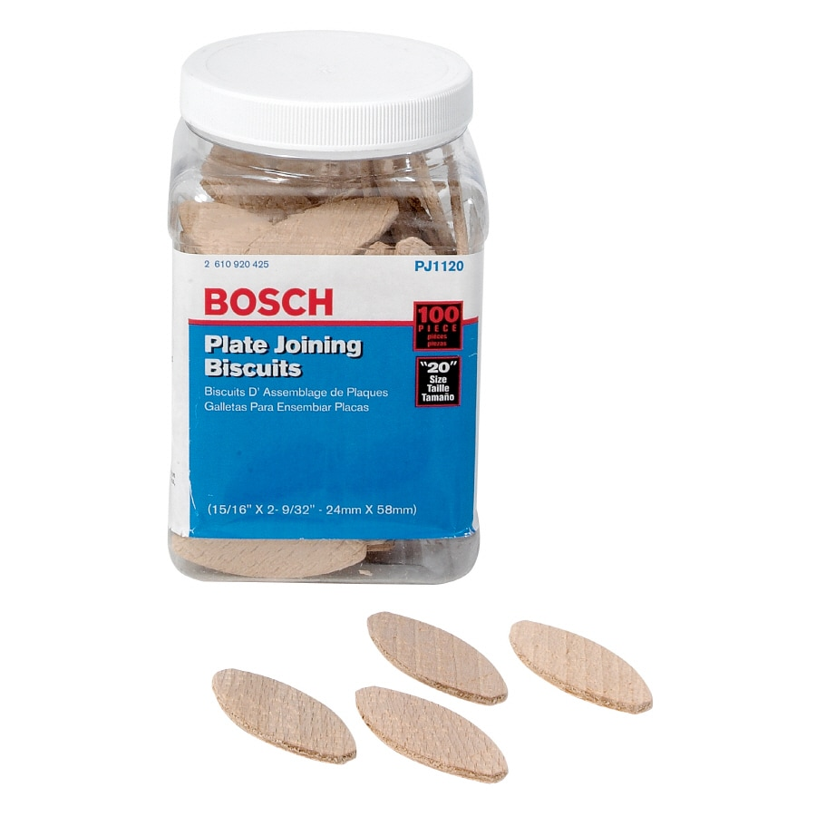 Bosch 100-PieceBiscuit Joiners