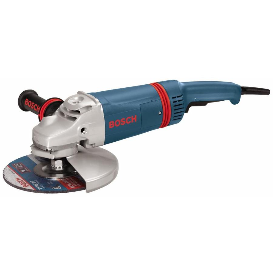Bosch 9-in 15-Amp Toggle Switch Corded Angle Grinder