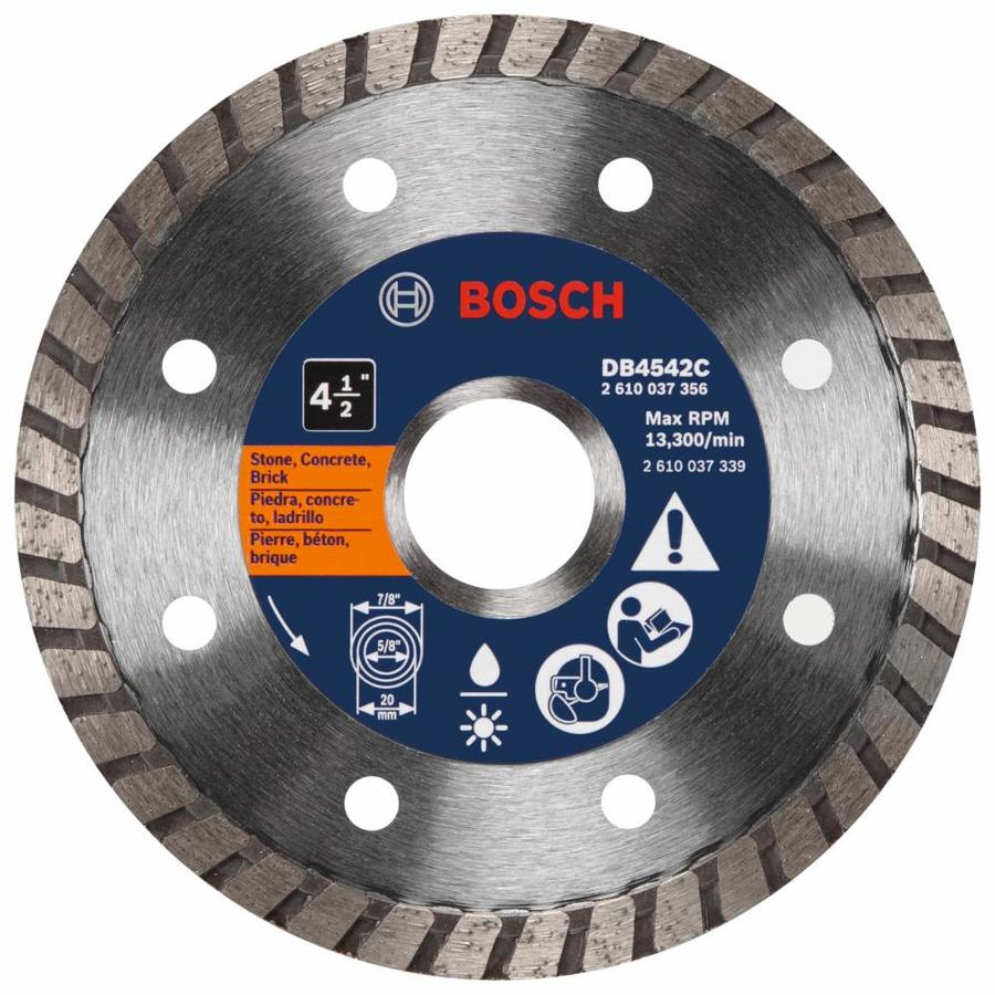 Shop bosch 4 12 in wet or dry turbo diamond circular saw blade at bosch 4 12 in wet or dry turbo diamond circular saw blade keyboard keysfo Image collections