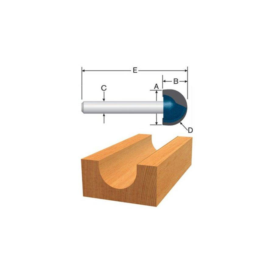 Bosch 3/8-in Carbide-Tipped Core Box Bit