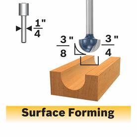 Bosch 3/4-in Carbide-Tipped Core Box Bit