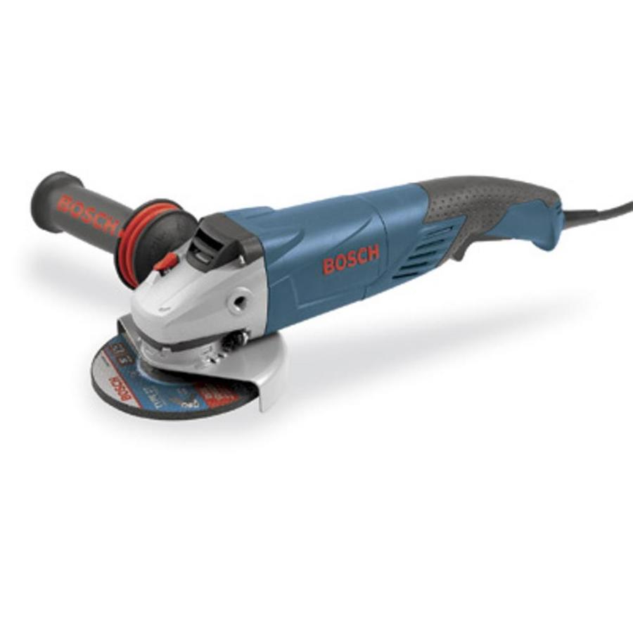 Bosch 5-in 9.5-Amp Paddle Switch Corded Angle Grinder