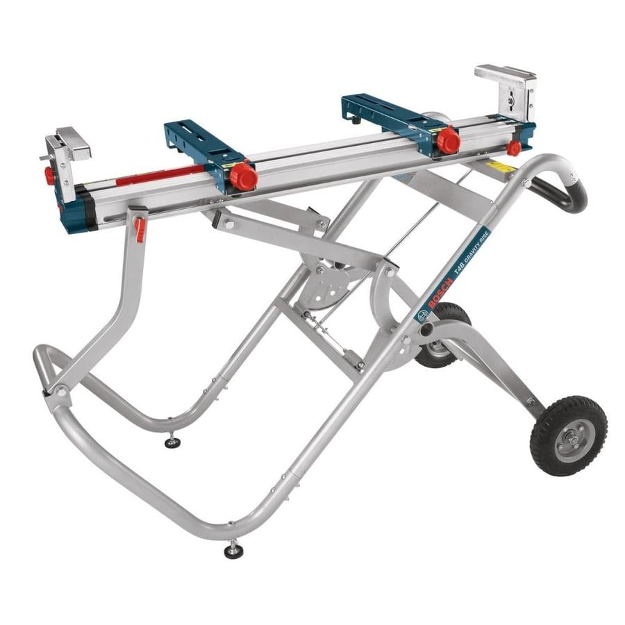 Bosch Gravity Rise Miter Saw Stand At Lowes Com