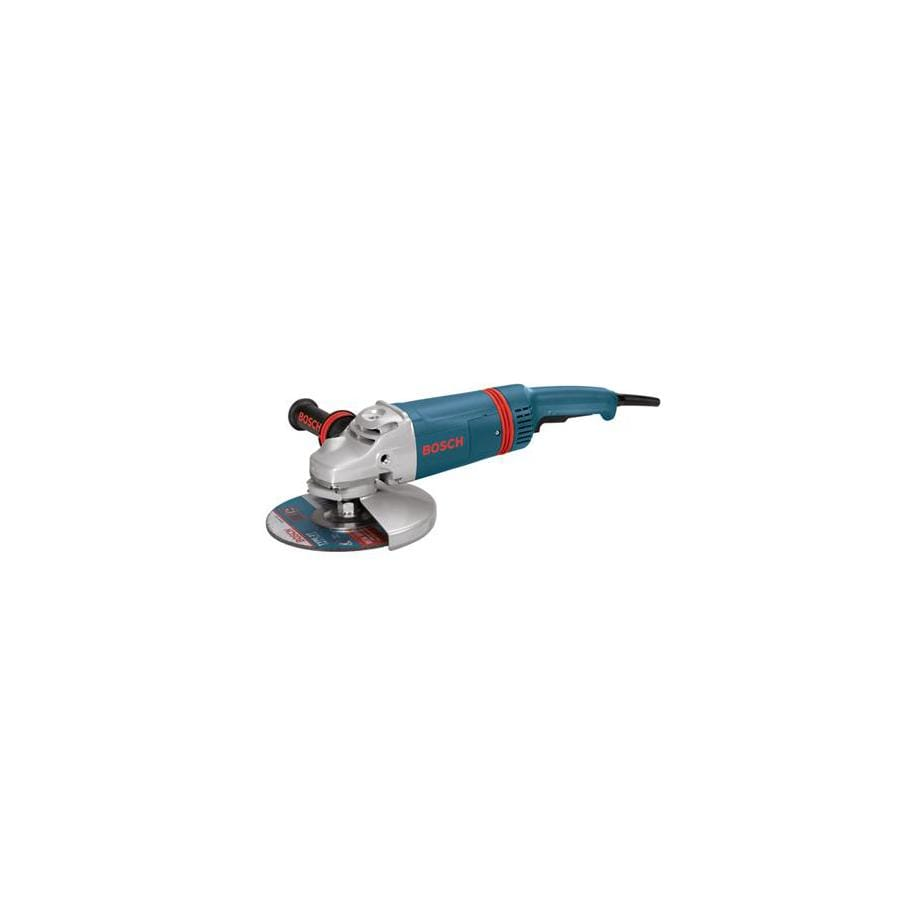 Bosch 9-in 15-Amp Trigger Switch Corded Angle Grinder