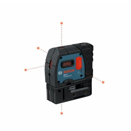 Bosch 100 Ft Self Leveling Line Generator Beam Laser Level With Plumb Points In The Laser Levels Department At Lowes Com