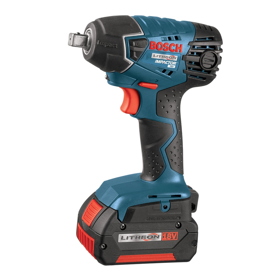 Bosch 18 Volt 1 2 In Drive Cordless Impact Wrench Batteries Included