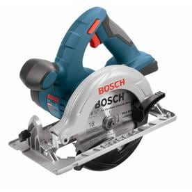 Bosch 18-Volt 6-1/2-in Cordless Circular Saw with Aluminum Shoe (Bare Tool Only)