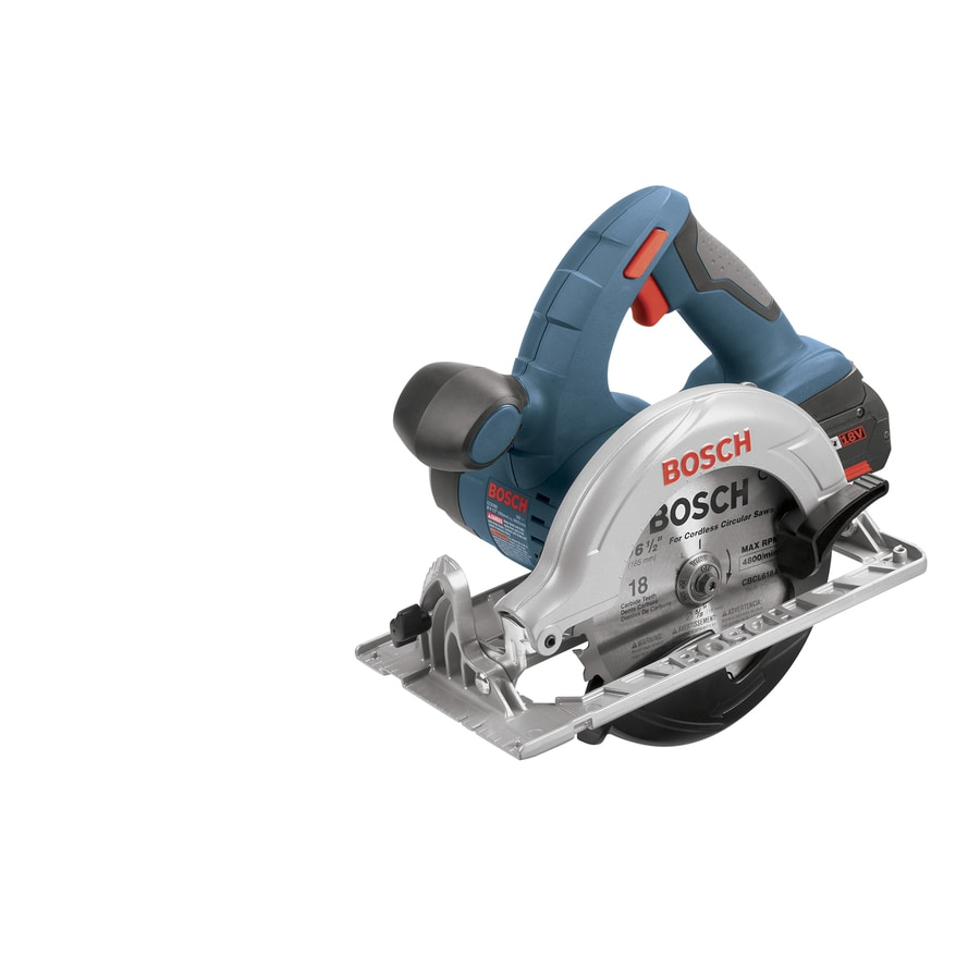 Bosch 18-Volt 6-1/2-in Worm Drive Cordless Circular Saw with Brake (Battery Included)