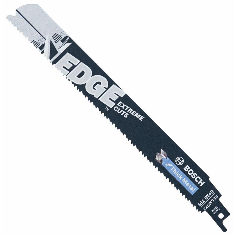 Bosch Edge 9-in 8/10-TPI Bi-Metal Reciprocating Saw Blade