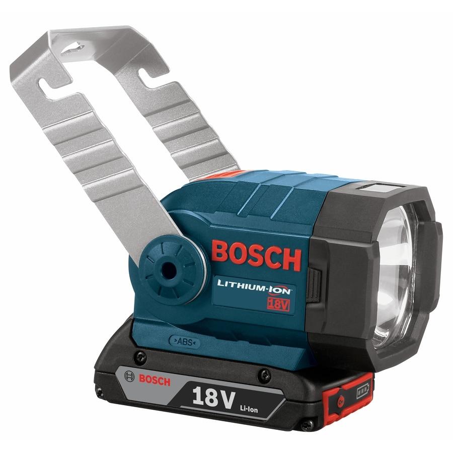 Bosch Halogen Freestanding Battery Flashlight (Battery Included)