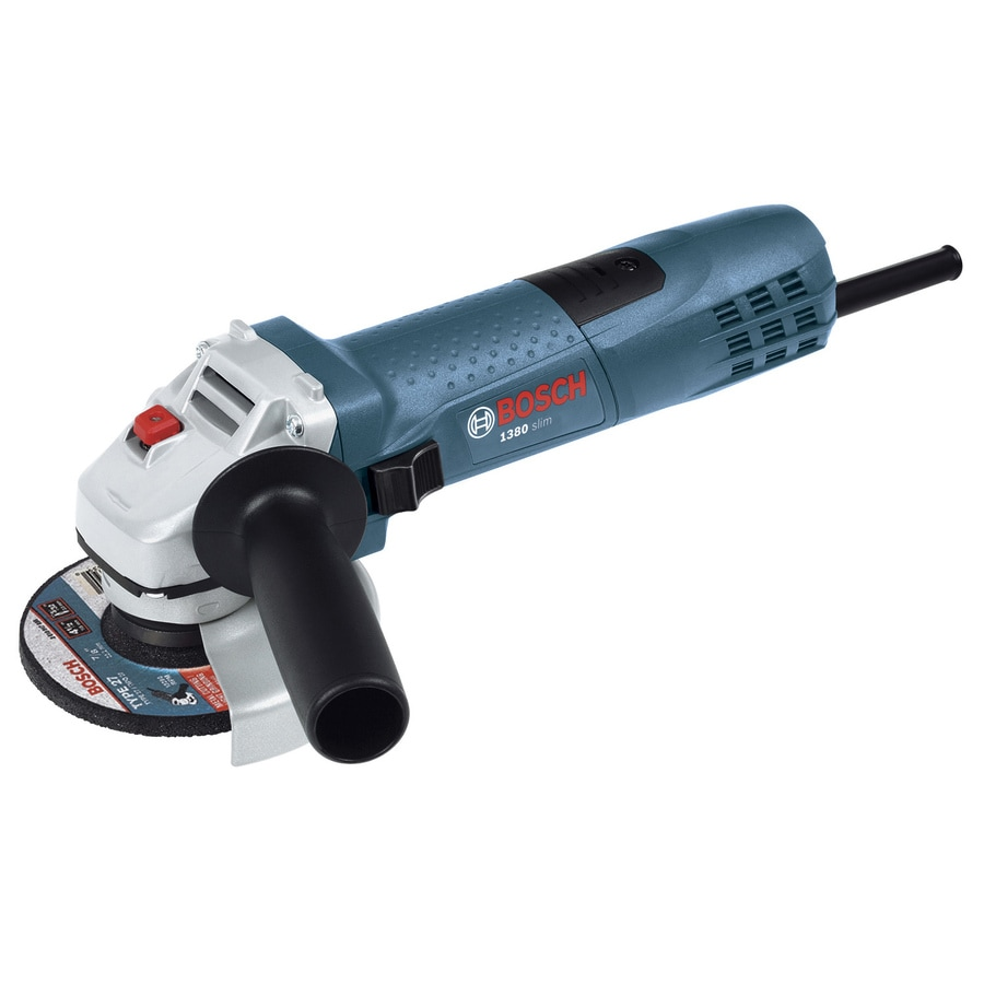 Bosch 4-1/2-In 7.5 Amps-Amp Sliding Switch Switch Corded Angle Grinder