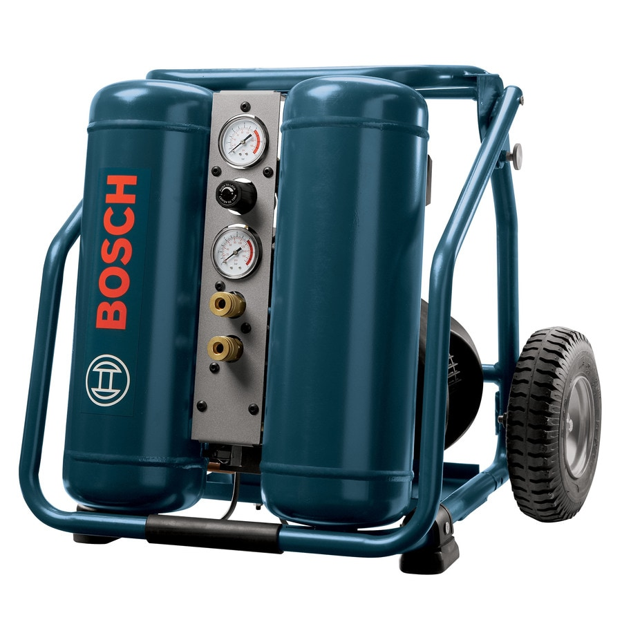 Bosch 2-HP 4-Gallon 125-PSI 120-Volt Vertical Portable Electric Air Compressor