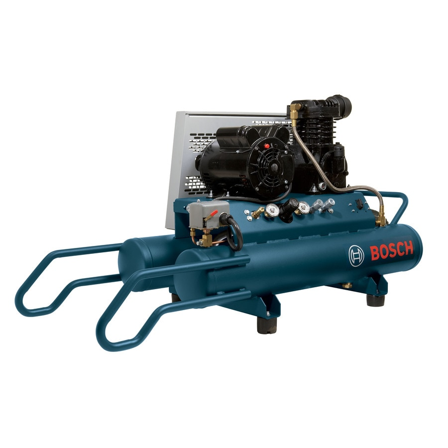 Bosch 1.5-HP 8-Gallon 120-PSI 220-Volt Horizontal Portable Electric Air Compressor