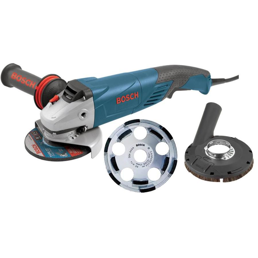 Bosch 5-in 9.5-Amp Trigger Switch Corded Angle Grinder