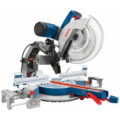 Bosch 12-in Dual Bevel Sliding Compound Miter Saw at Lowes com
