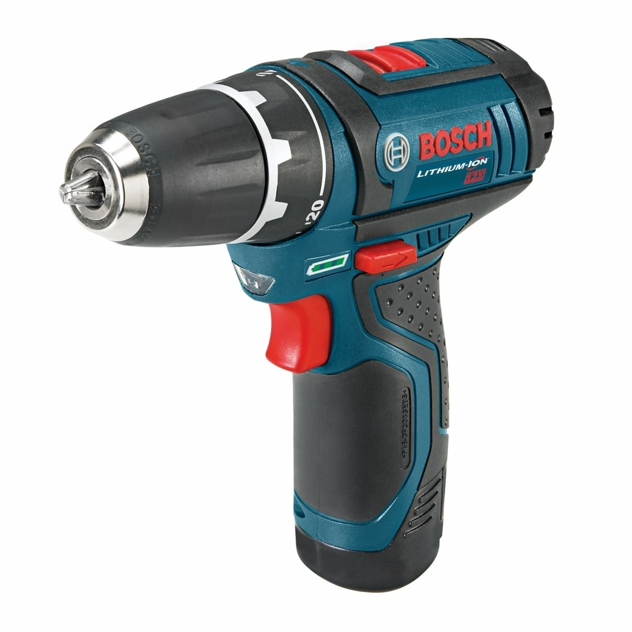 48bc564b6c88 Bosch 12-volt Max 3/8-in Cordless Drill (2-Batteries Included) at ...